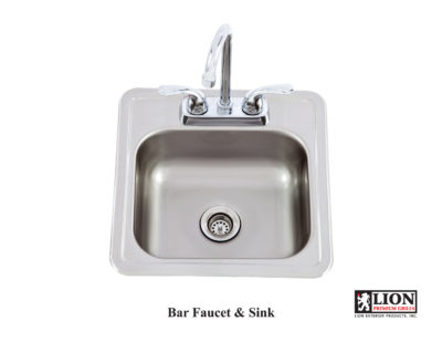 Image of Lion Bar Faucet and Sink