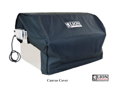 Lion Grill Cover