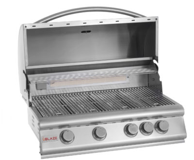 Blaze 32″ 4-Burner Gas Grill w/ Rear Burner