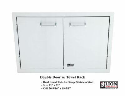 Lion Double Door