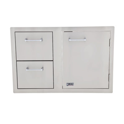 Lion Door and Drawer Combination L3320