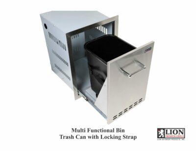 Lion-Multi-Function-Bin-Trash-and-Propane-storage