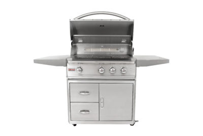 Blaze Grills – 3-Burner Professional Gas Grill on Cart