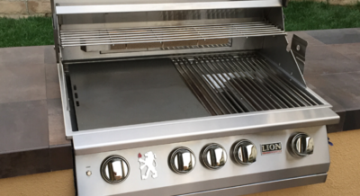 Lion Premium Grill L75000 with Griddle on Island