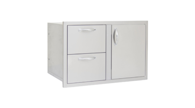Blaze Outdoor Products – 32″ Access Door & Double Drawer Combo