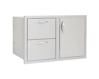 Blaze Door Drawer Combo 32-Inch (BLZ-DDC-R)