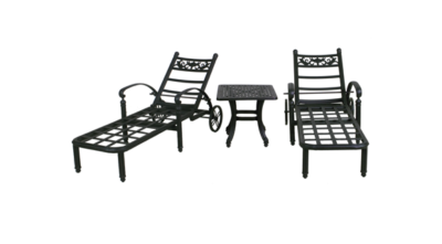 Basso Collection Chaise Lounge Set