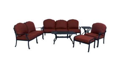 Catalina Collection Loveseat, Sofa, Club Chair, Ottoman, Coffee Table & End Table