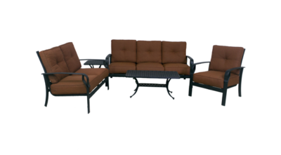 Venice Collection Loveseat, Sofa, Club Chair, Coffee Table & End Table