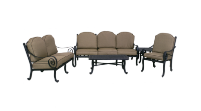 Wynn Collection Loveseat, Sofa, Club Chair, End Table & Coffee Table