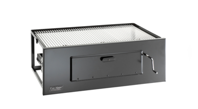 Fire Magic – Charcoal Life-A-Fire Slide In 24 Inch Grill