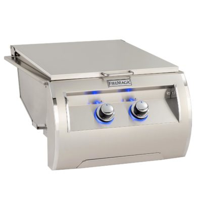 Fire Magic Echelon Diamond Double Searing Station with Lid