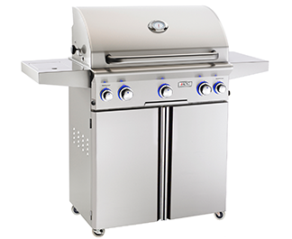 American Outdoor Grill L-Series 30-Inch 3-Burner Propane Gas Grill W/ Rotisserie & Single Side Burner - Model 30PCL