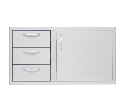Blaze Door Drawer Combo 39-inch (BLZ-DDC-39-R )