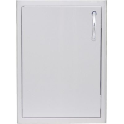 Blaze 21 Inch Vertical Single Access Door - Left Hinged (BLZ-single 2417-R-LH)