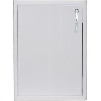 Blaze 21 Inch Vertical Single Access Door - Left Hinged (BLZ-single 2417-R-LH)