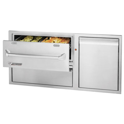 42-Inch Twin Eagles Warming Drawer Combo TEWD42C-C