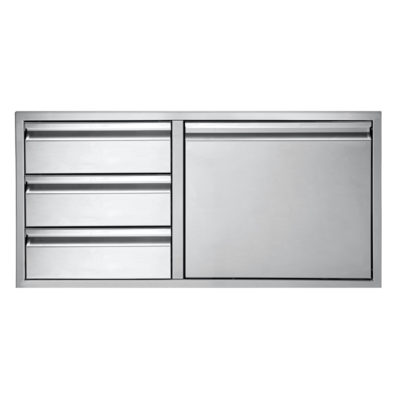 Twin Eagles 30-Inch Door with Three Drawer Combo TEDD423-B