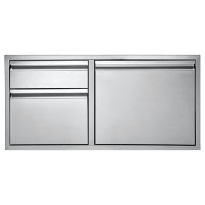 Twin Eagles 30-Inch Door:Two Drawer Combo TEDD302-B