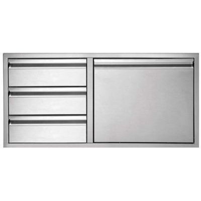 Twin Eagles 36-Inch Door with Three Drawer Combo TEDD363-B