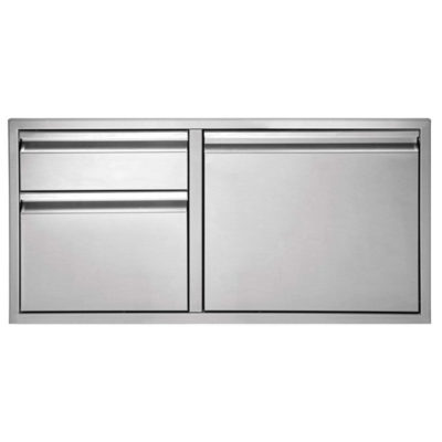 Twin Eagles 36-Inch Door:Two Drawer Combo TEDD362-B