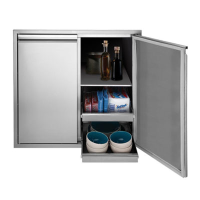 Twin Eagles 36-Inch Tall Dry Storage Cabinet TEDS36T-B