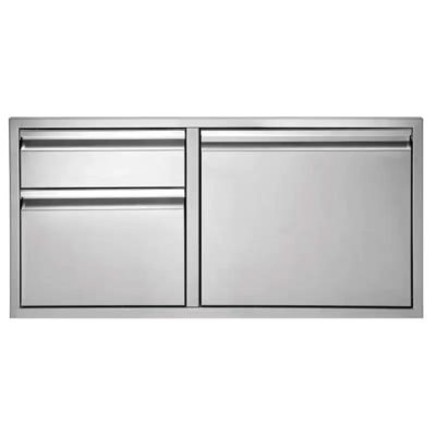 Twin Eagles 42-Inch Door with Two Drawer Combo TEDD422-B