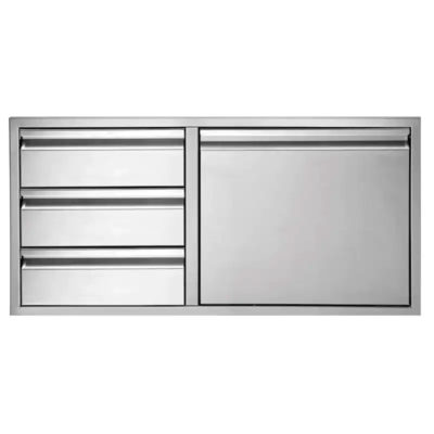 Twin Eagles 42-Inch Stainless Steel Access Door & Triple Drawer Combo - TEDD423-B