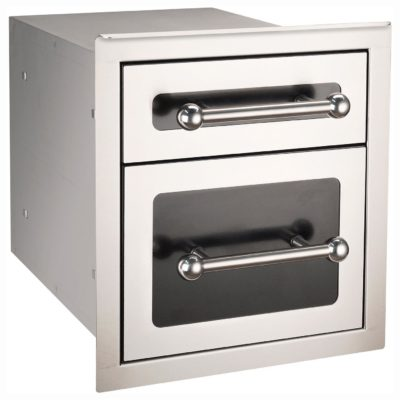 BLACK DIAMOND DOUBLE DRAWER 53802HSC