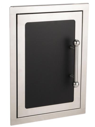 Fire Magic Premium Flush 14-Inch Single Access Door - Black Diamond Series