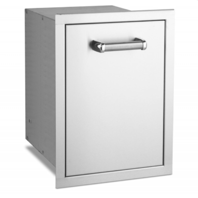 Fire Magic Premium Flush 14-Inch Trash Cabinet 53820TSC