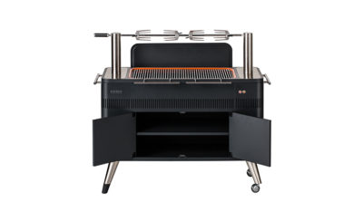 Everdure Hub Charcoal Grill with Rotisserie