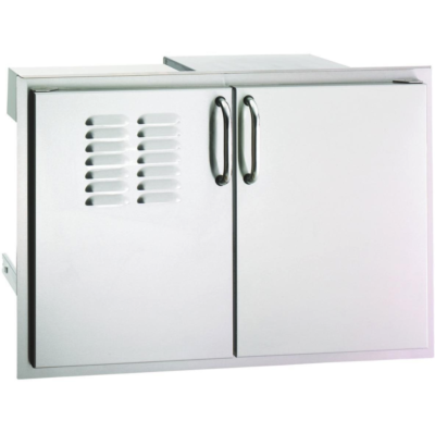 Fire Magic Select 30″ Double Doors with Propane Tank Tray and Double Drawers 33930S-12T
