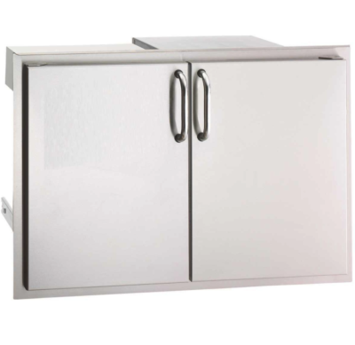 Fire Magic Select 30-Inch Double Doors with Trash Tray and Double Drawers 33930S-12