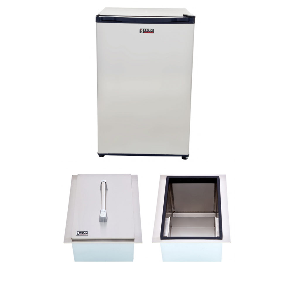 Lion BBQ Refrigerator and Ice Chest