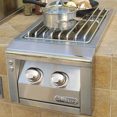 Alfresco Single Side Burner AXESB-2