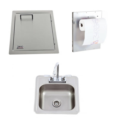 Lion-Vertical-Door-with-Towel-Rack-Bar-Sink-with-Faucet-L62945-54167
