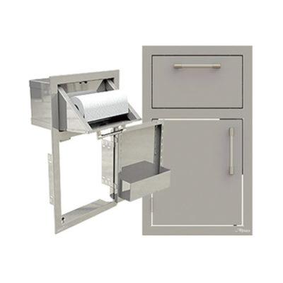 Alfresco Door and Paper Towel Holder Combo
