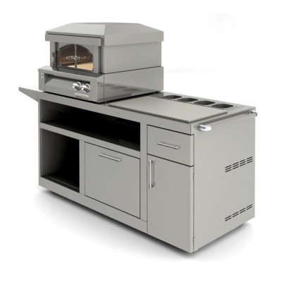 Alfresco Pizza Oven Plus with Prep Cart